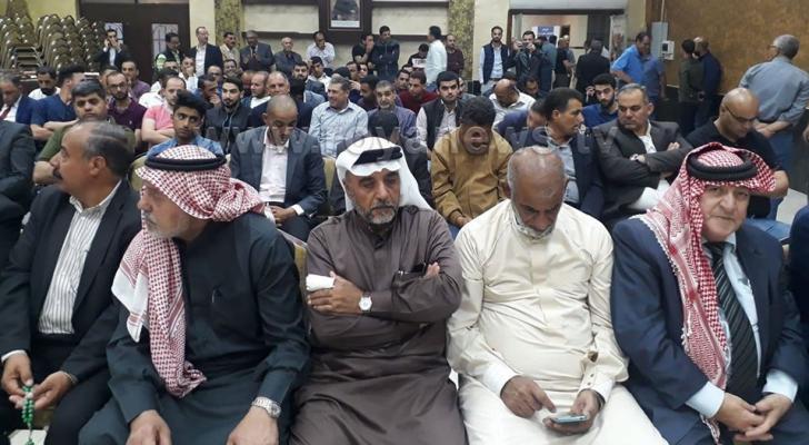 اجتماع الفعاليات الشعبية في الكرك