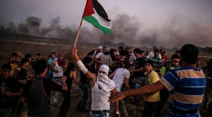 هذه الجمعة السابعة والخمسين لمسيرات العودة وكسر الحصار