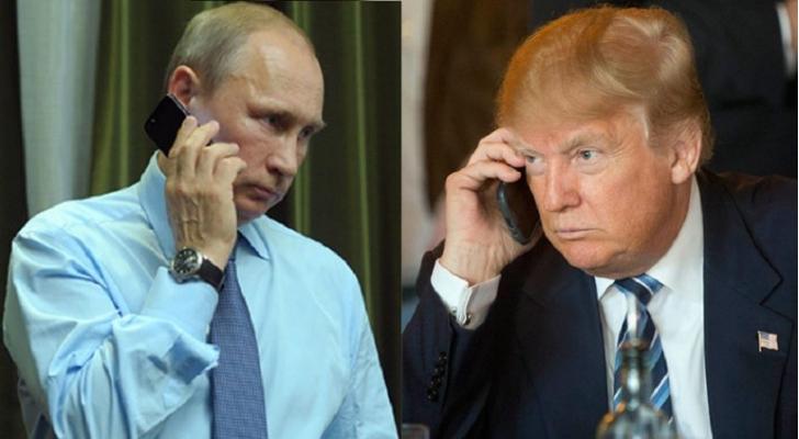 الرئيسان الروسي، فلاديمير بوتين، والأمريكي، دونالد ترمب