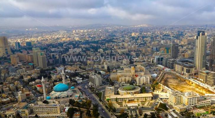 صورة أرشيفية للعاصمة عمان