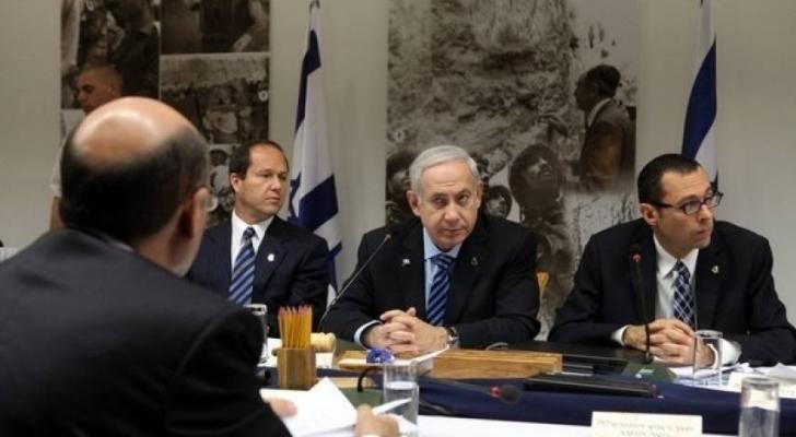 اجتماع سابق بين نتنياهو وقادة جيش الاحتلال