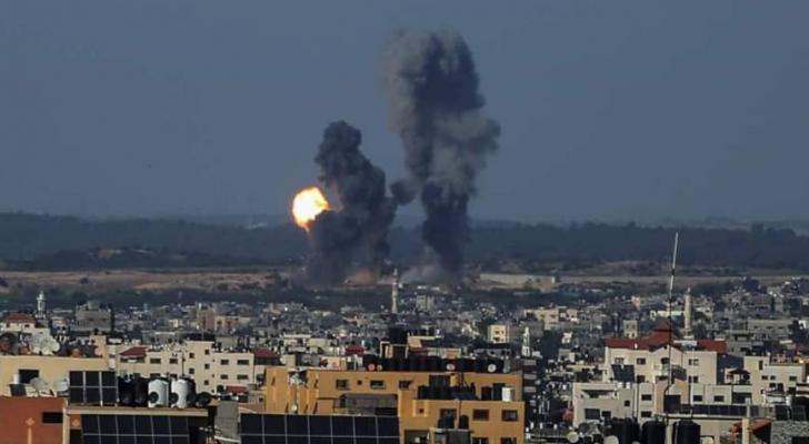 من قصف الاحتلال على غزة