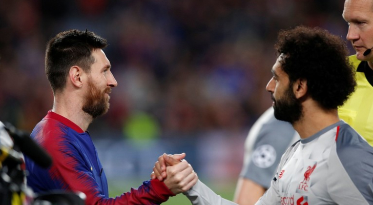 برشلونة يوجه رسالة لصلاح