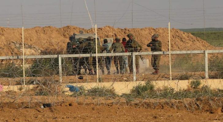 قوات الاحتلال على حدود غزة - ارشيفية