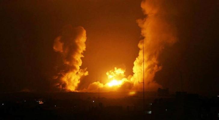 من عدوان الاحتلال على قطاع غزة