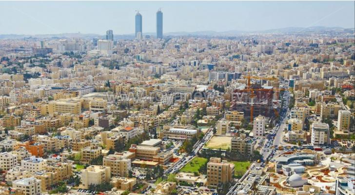 صورة ارشيفية للعاصمة عمان