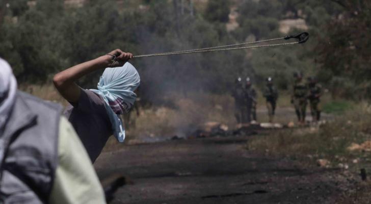 الصورة من المواجهات مع الاحتلال