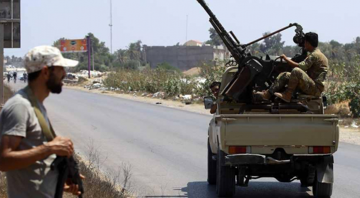 المعارك في ليبيا