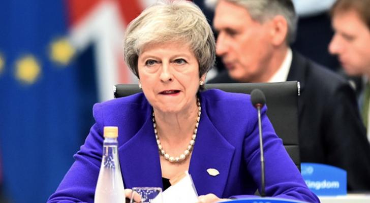 رئيسة الوزراء البريطانية تيريزا ماي - ارشيفية