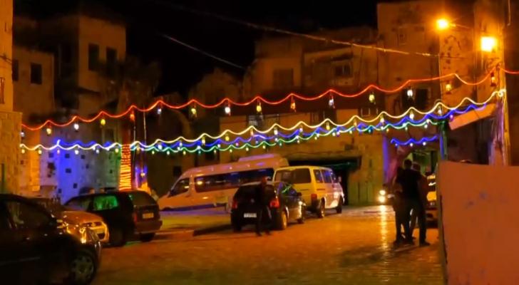 رؤيا تنقل الأجواء في مدينة نابلس