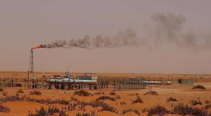 """منشأة نفطية تابعة لشركة """"أرامكو"""" السعودية"""