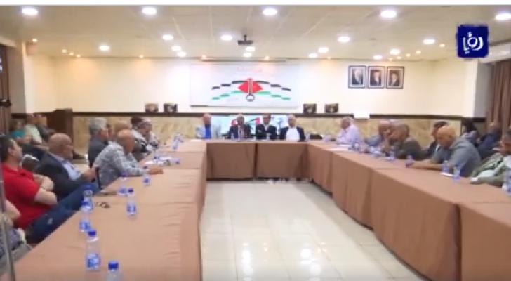 حزبيون ونقابيون يطالبون بإلغاء اتفاقية الغاز وبتثبيت الحقوق الأردنية في الباقورة والغمر