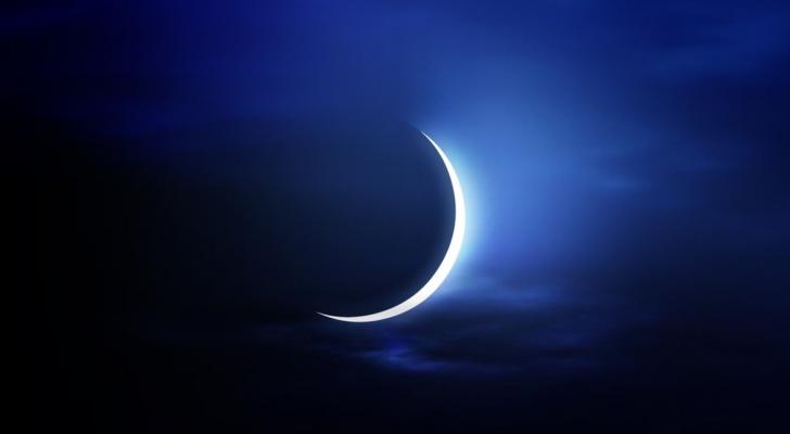 سيغيب القمر يوم الإثنين في منطقة العربية ووسط وغرب العالم الإسلامي
