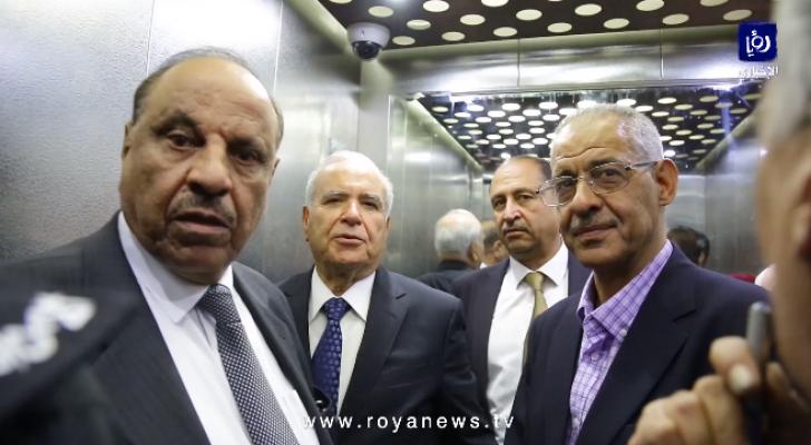 حماد والخشاشنة والمعاني والعبوس في مصعد مستشفى الامير حمزة