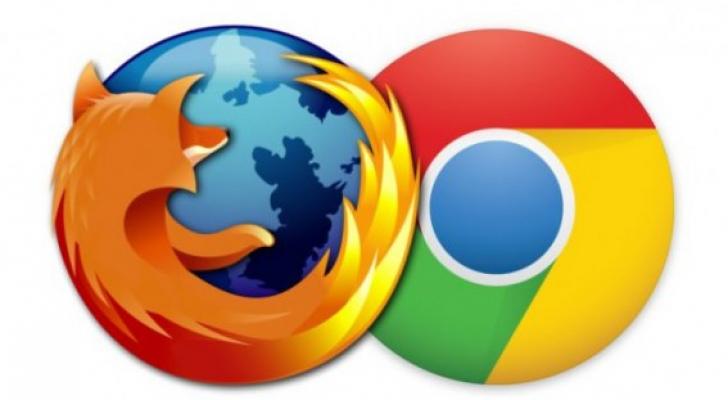 صورة تعبيرية - متصفح فاير فوكس و جوجل كروم