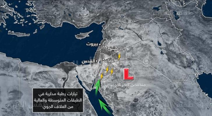 طقس العرب: أمطار صيفية متوقعة في جنوب وشرق المملكة طيلة الأسبوع القادم