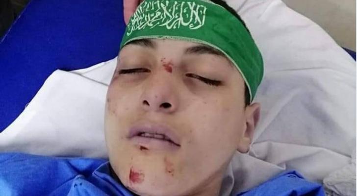 """الطفل الفلسطيني عبد الله غيث """"15عاما"""