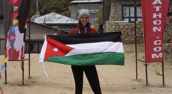 الغفاري أول امرأة عربية تُنهي مارثون جبل إيفريست
