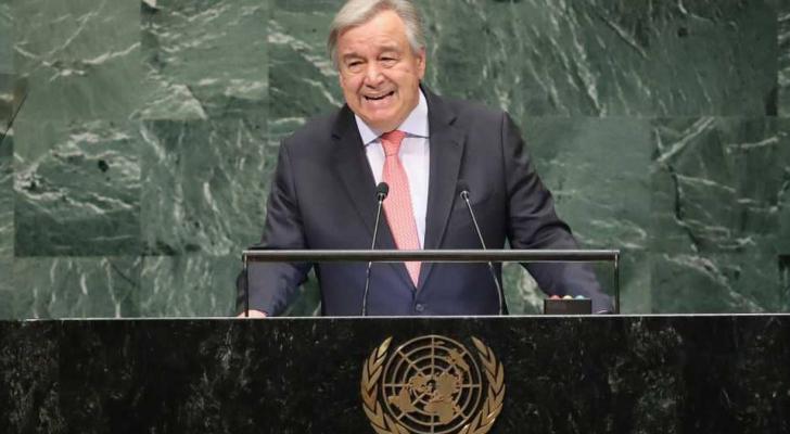 الأمين العام للأمم المتحدة، أنطونيو غوتيريش