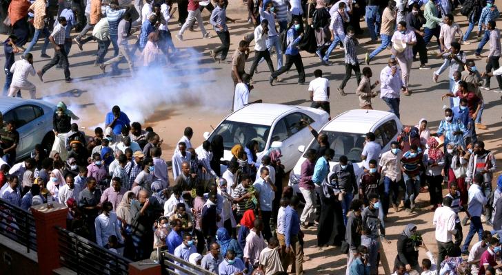 من الاحتجاجات في السودان - ارشيفية