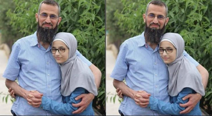 الدكتور  القنيبي وابنته سارة