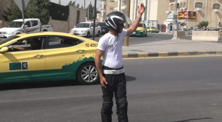 نشامى السير أثناء واجبهم الرسمي في الميدان