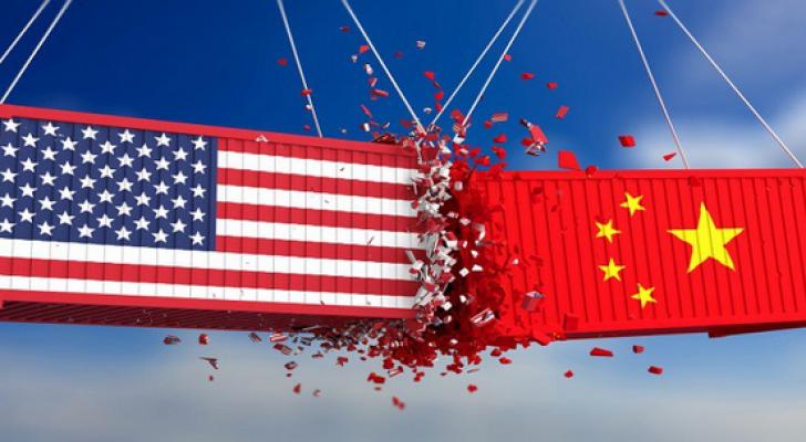 الصين وامريكا - تعبيرية