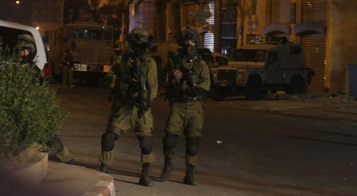 عناصر من جيش الاحتلال