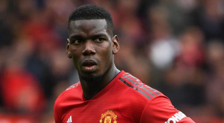 بول بوغبا لاعب مانشستر يونايتد الإنجليزي