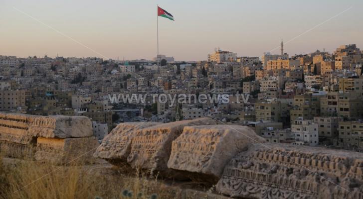 ارشيفية للعاصمة عمان