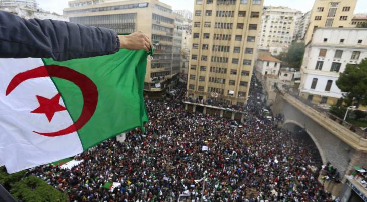 التظاهرات في الجزائر