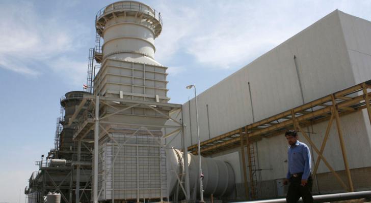 محطة كهرباء تديرها شركة سونير الإيرانية في حي مدينة الصدر بالعاصمة العراقية بغداد - رويترز