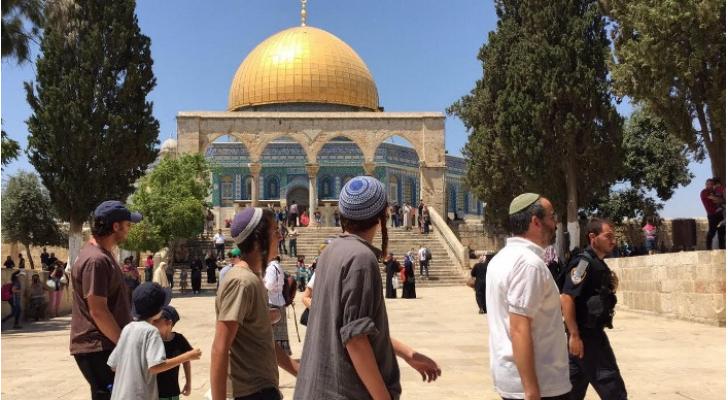 مستوطنون يقتحمون المسجد الأقصى - ارشيفية