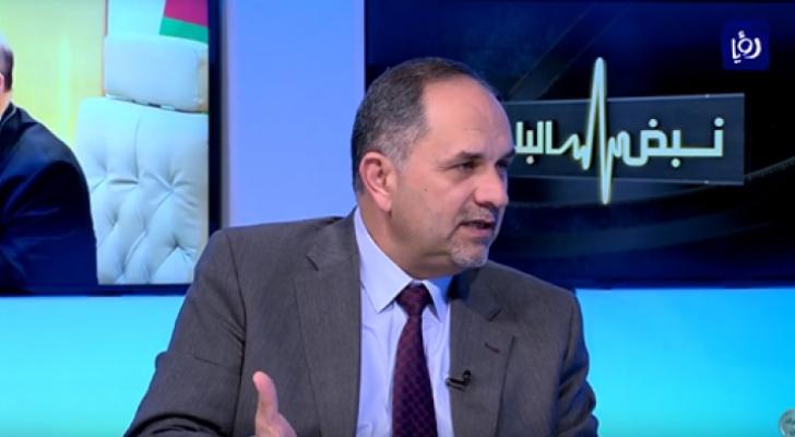 وزير العدل الدكتور بسام التلهوني - ارشيفية