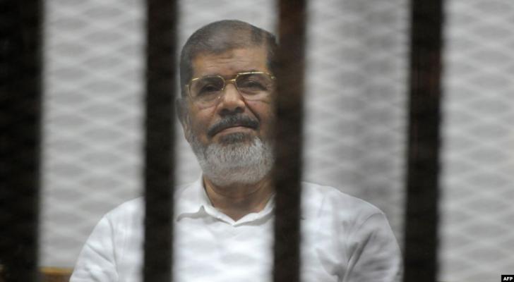 الرئيس المصري السابق محمد مرسي - أ ف ب