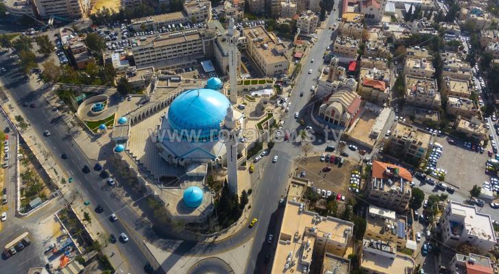 صورة للعاصمة عمان