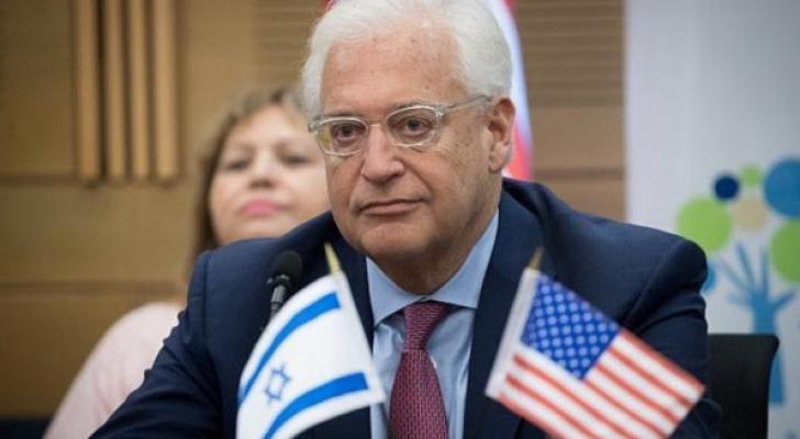"""ديفيد فريدمان.. يهودي أمريكي ويعتبر أحد عرابي """"صفقة القرن"""""""