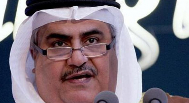وزير خارجية البحرين الشيخ خالد بن أحمد بن محمد آل خليفة - ارشيفية