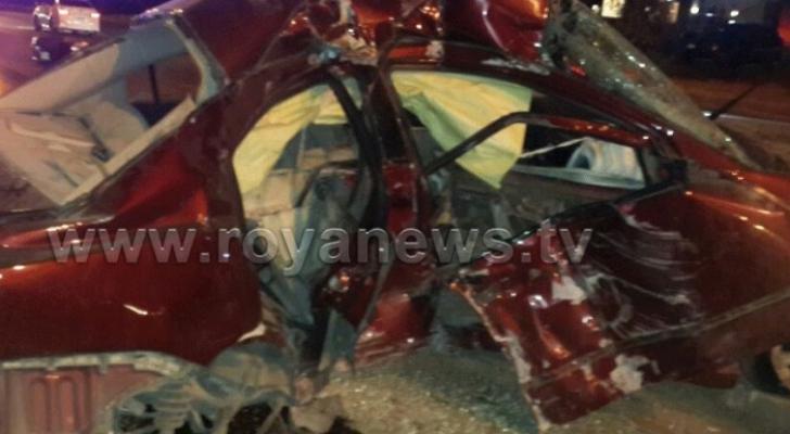 ارشيفية لحادث سابق في محبط الدوار السابع