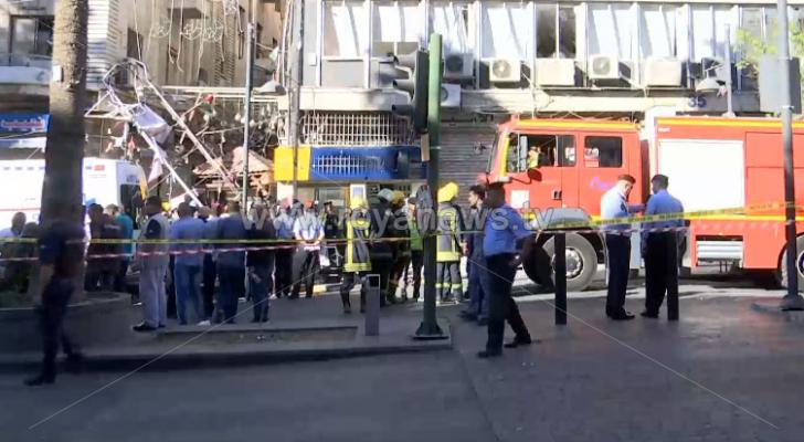 الصورة من مكان الحادثة