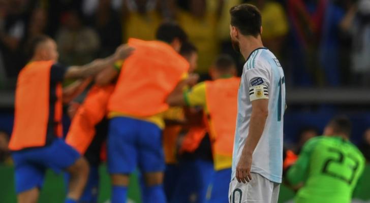 الأرجنتين تتقدم باعتراض على التحكيم في مباراة نصف النهائي