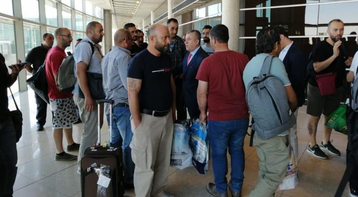 الأردنيون القادمون من كازاخستان