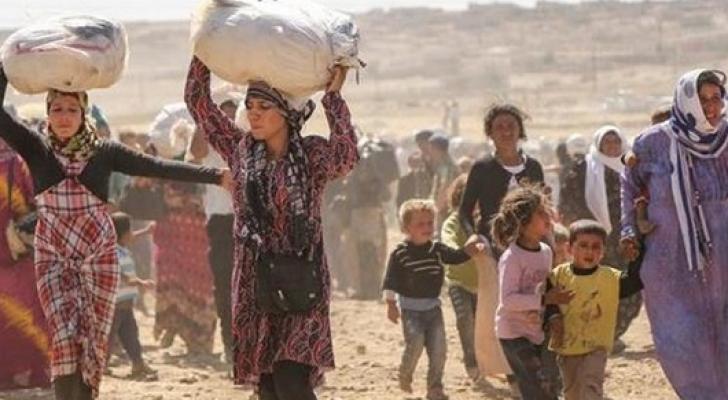 لاجئون سوريون - ارشيفية