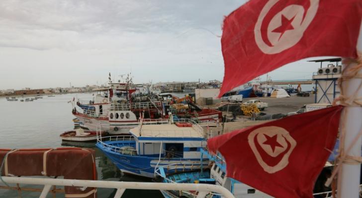 ميناء جرجيس في جنوب تونس