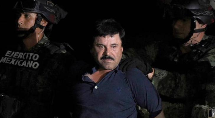 """تاجر المخدرات المكسيكي خواكين """"إل تشابو"""" غوسمان"""