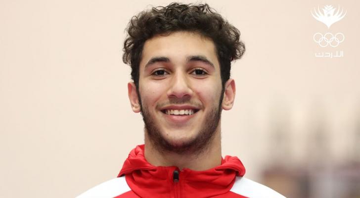 لاعب منتخب الناشئين ، زكي أبو قاعود