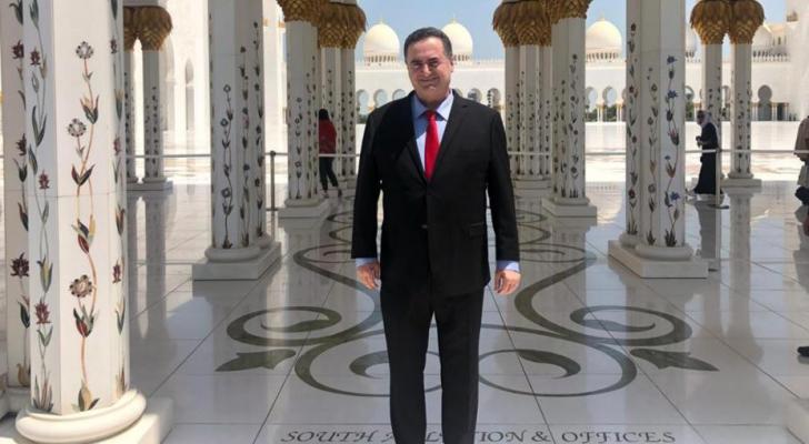 وزير خارجية الاحتلال في إمارة أبو ظبي