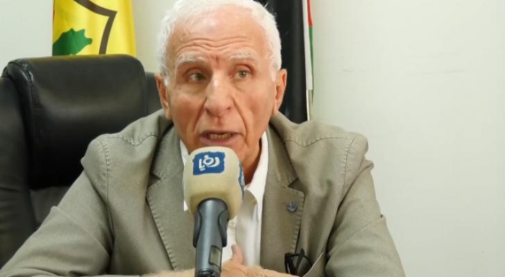 عضوُ اللجنةِ التنفيذيةِ لمنظمةِ التحريرِ الفلسطينية عزام الأحمد - من الفيديو