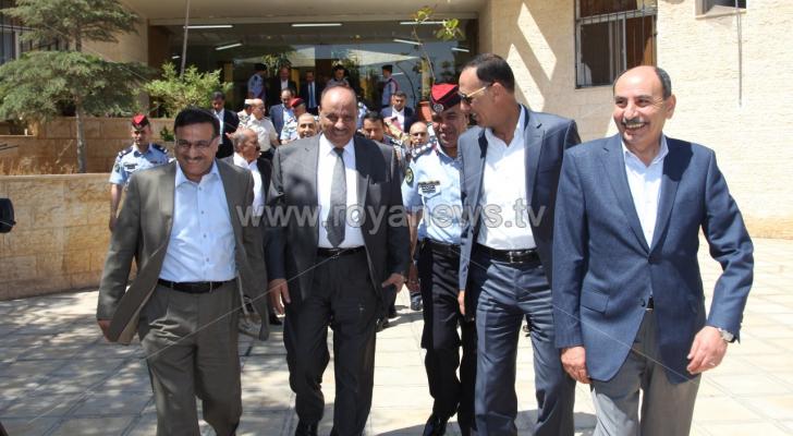 وزراء الداخلية والمالية والاشغال يزورون مركز حدود جابر - مصدر الصورة من وزارة الداخلية