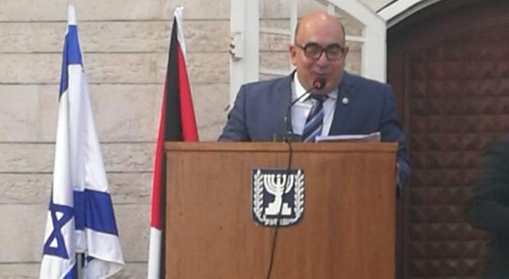 سفير الاحتلال أمير فايسبرود - صورة من الحفل